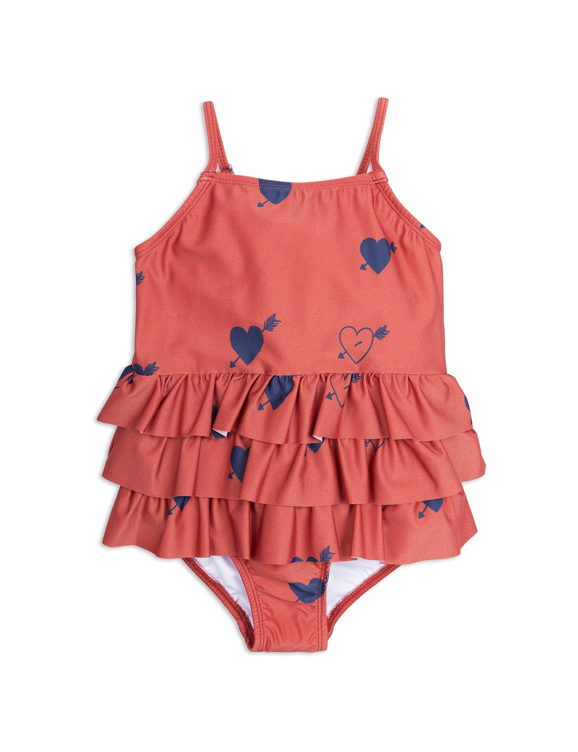 HEART FRILL SWIMSUIT