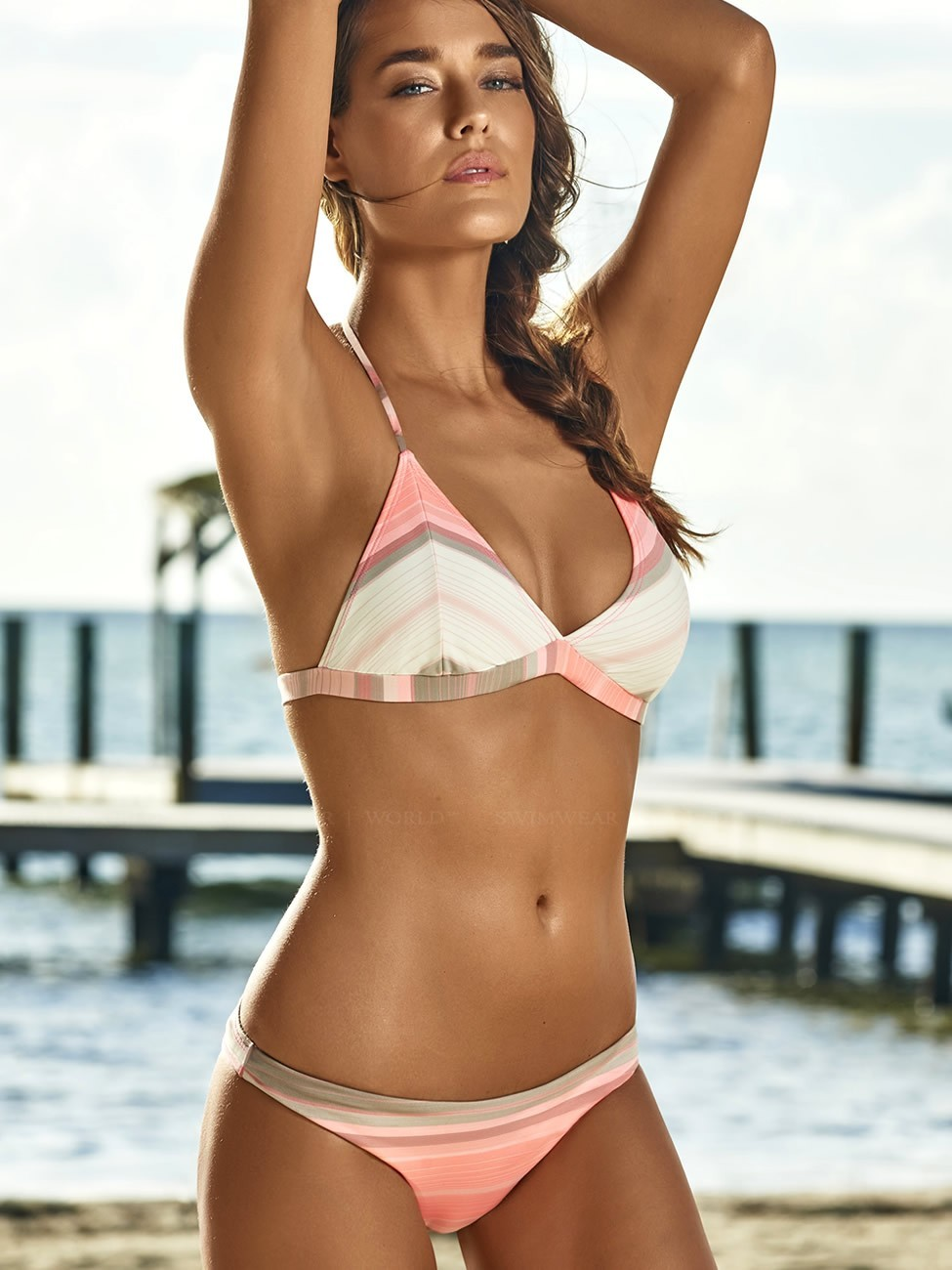 Barbados Thin Banded Halter Top