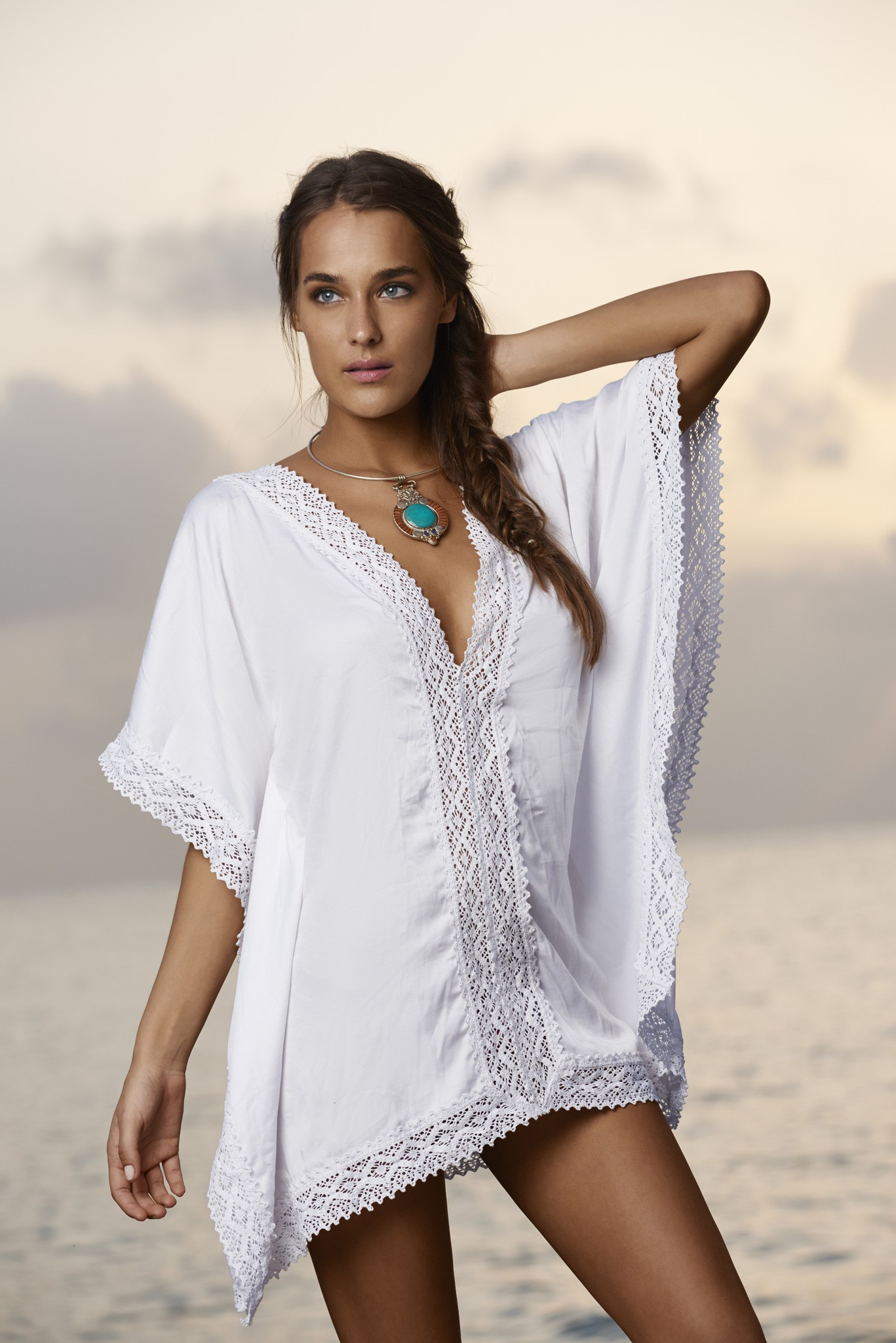 Water Lily Paradise Tunic
